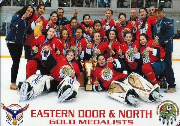 Eastern Door Girls win gold at National Aboriginal Hockey Championships