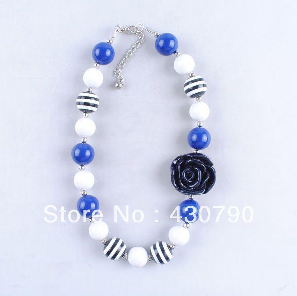 mode nieuwe aankomst nieuwigheid ontwerp voor dikke kralen kinderen halsketting sieraden voor 2014