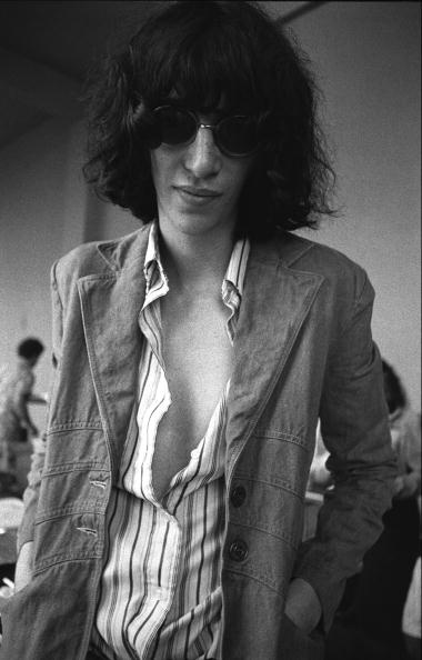 Joey Ramone in his Sunday best