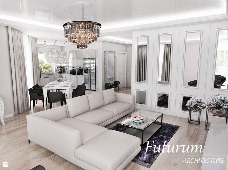 Salon styl Glamour - zdjęcie od Futurum Architecture - Salon - Styl Glamour…