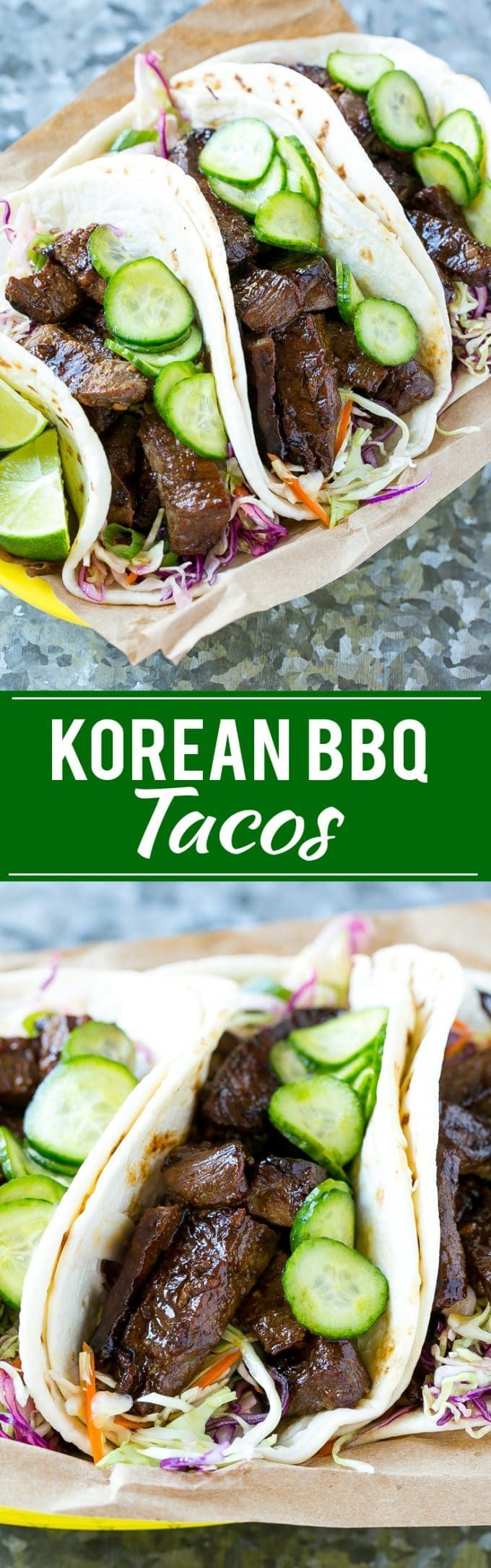 Korean BBQ Tacos Recipe | Beef Tacos | Korean Beef | Easy Taco Recipe