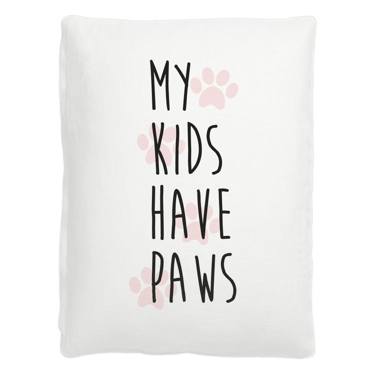 My kids have paws pet bed