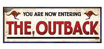 Outback Welcome Sign, Party Supplies, Classroom Decorations