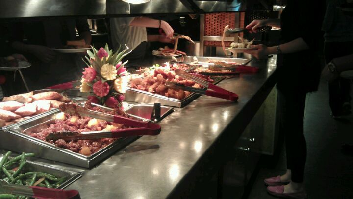 all you can eat chinese buffet-kids love it.