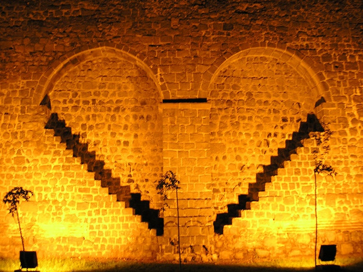 Diyarbakir, Turkey.  This is a famous section of the old city wall.