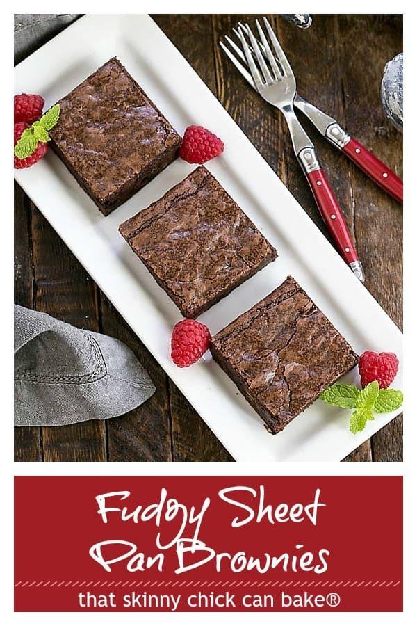 Sheet Pan Brownies Recipe Low Carb Recipes Dessert Fudgy