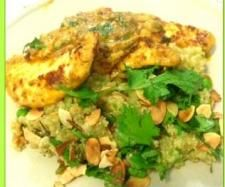 Chicken Tikka and Indian Spiced Quinoa