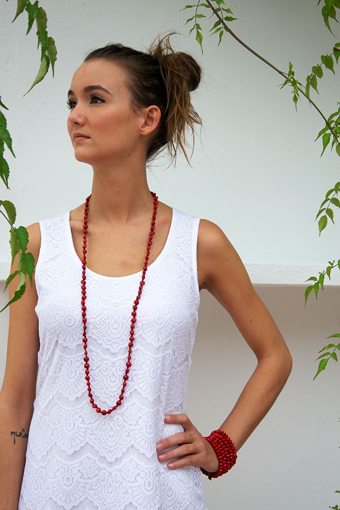 One Round Seeds Necklace
