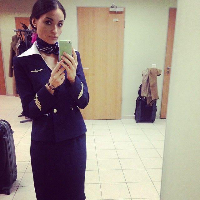 Aeroflot Stewardess Crewfie @chegish