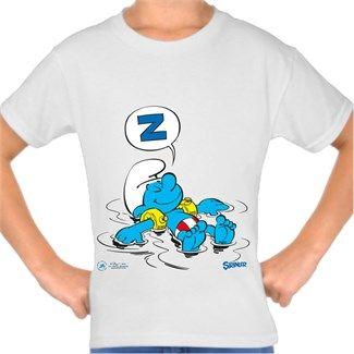 Şirinler - Deniz Uykusu - Kendin Tasarla - Çocuk Tişört