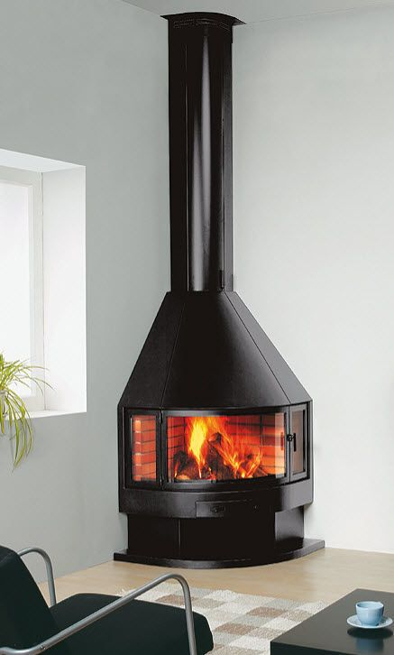 Delightful Corner Wood Burner?