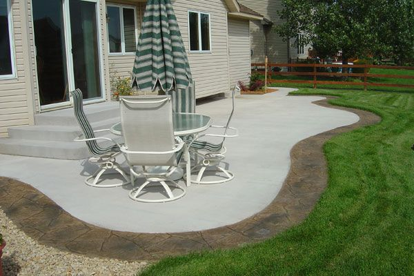 8 best images about patio on Pinterest Concrete patios, Stamped