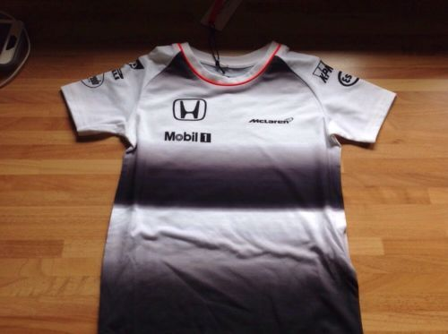Mclaren 2016 #kids/small baby #official team t shirt #bought at formula 1,  View more on the LINK: 	http://www.zeppy.io/product/gb/2/282104830425/