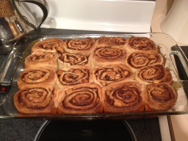 Anna Olson's gooey and soft cinnamon sticky buns. They're FOOL-PROOF!!