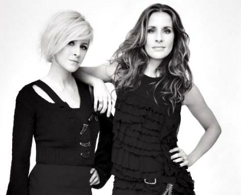 Sisters Martie Maguire and Emily Robison of both the Dixie Chicks and the Court Yard Hounds.