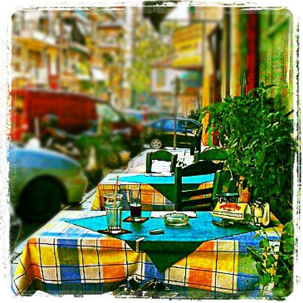 Frape time! - @batafoukos- #webstagram - #Thessaloniki - #Greece
