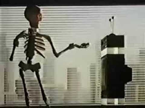 Scotch - Video Tapes - Skeleton Re-record - 1985 - UK Advert