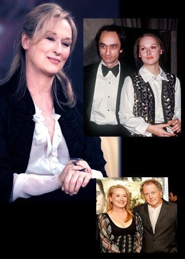 Meryl Streep and John Cazale (1976-1978; his death) also Meryl Streep and Don Gummer (the man she married)