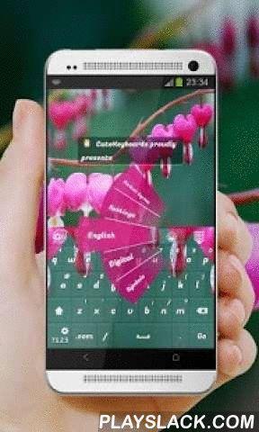 """Pink Lyre GO Keyboard  Android App - playslack.com ,  Dit is de GO Keyboard """"Pink Lyre"""" thema door CuteKeyboards.Pink Lyre.De belangrijkste elementen die dit toetsenbord beïnvloed zijn harten, lier, licht roze, liefde en bloem, en in combinatie met de prachtige donkerpaarse nuances, alles ving een prachtige vorm.Gesprek kan worden vergeleken met een lier met zeven akkoorden - filosofie, kunst, poëzie, liefde, schandaal, en het weer.Het is in verband gebracht voor een lange tijd met rust, en…"""