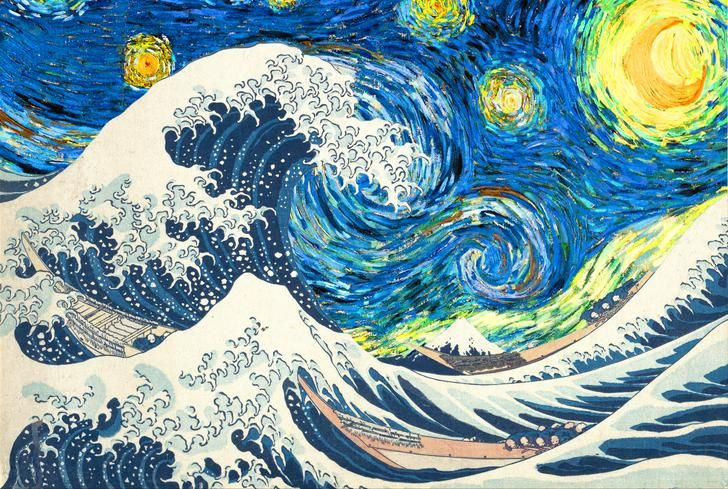Question Starts Continue Working On The Visible Thinking Routine Starry Night Art Van Gogh Wallpaper Van Gogh Art