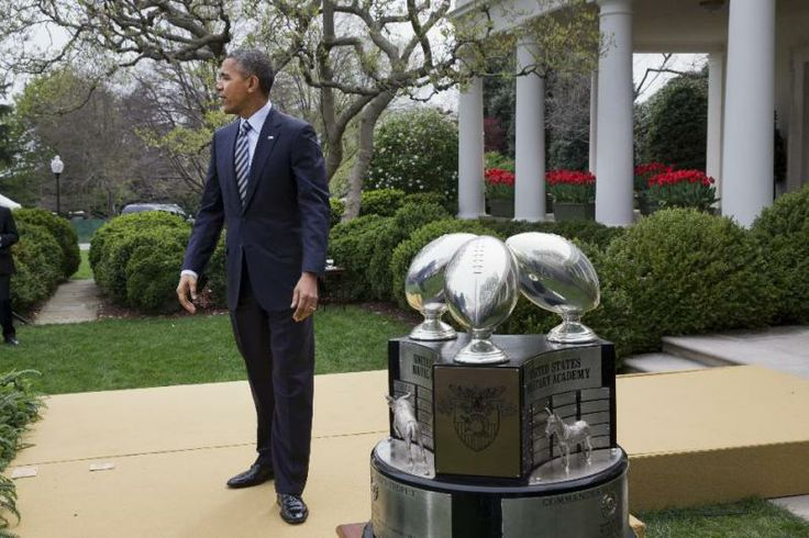 The Naval Academy Football Team Comes To The White House | The Obama Diary