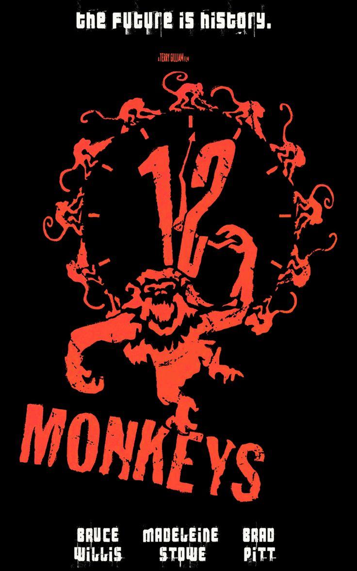 12 monos, twelve monkeys, 12 monkeys, tv, film, brad pitt, time travel, viajes en el tiempo, sic-fi