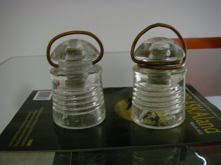 17 best images about glass insulators on pinterest for Glass electric insulator crafts