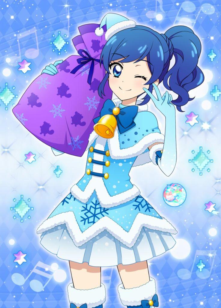 Crying Girl Cartoon Wallpaper Aoi Sr13 Aikatsu Aoi Sr Pinterest Anime Star And