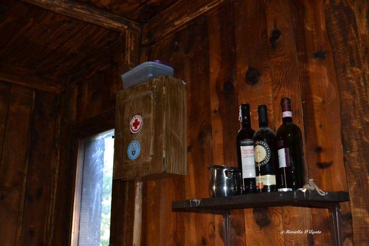 Rifugio Timpa Rossa, tutto il necessario per la sopravvivenza.