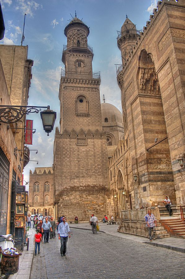 Scene from old Cairo, Egypt Only on #AirConcierge #cairo from $535 total