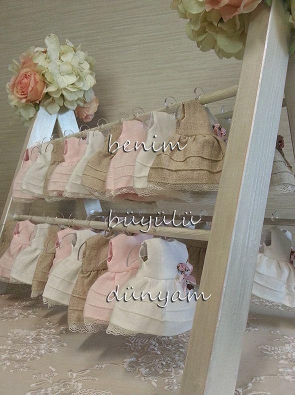 keten-pembe-renkli-kiz-bebek-hediyelik-elbise-çiçekli-dantelli-lavanta-kesesi-hastane-hediyelik
