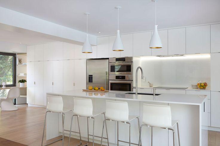 17 meilleures id es propos de armoires en merisier sur for Voir des cuisines modernes