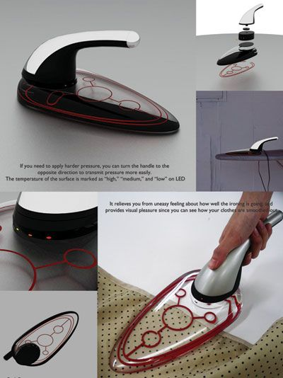 Very interesting design for an iron