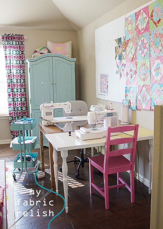 my fabric relish: Sewing Room Reveal