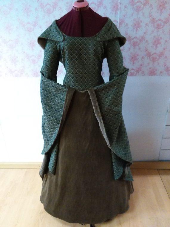 medieval  dress / celtic  dress / medieval  by BrunhildeFantasy