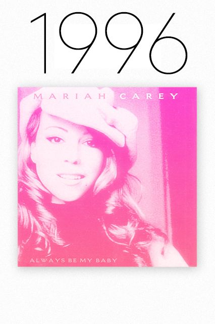 """1989-2014: The Greatest Summer Anthems #refinery29  http://www.refinery29.com/summer-songs#slide8  1996: """"Always Be My Baby,"""" Mariah Carey  The three most important words of the summer of '96: """"doo-doo-doop."""" This is the feel-good love song of the '90s, plain and simple, and while many of the decade's great romances (Pam and Tommy, Bill and Monica, Madonna and Vanilla Ice) fizzled out, Mariah tried her damndest to keep the fires burning."""