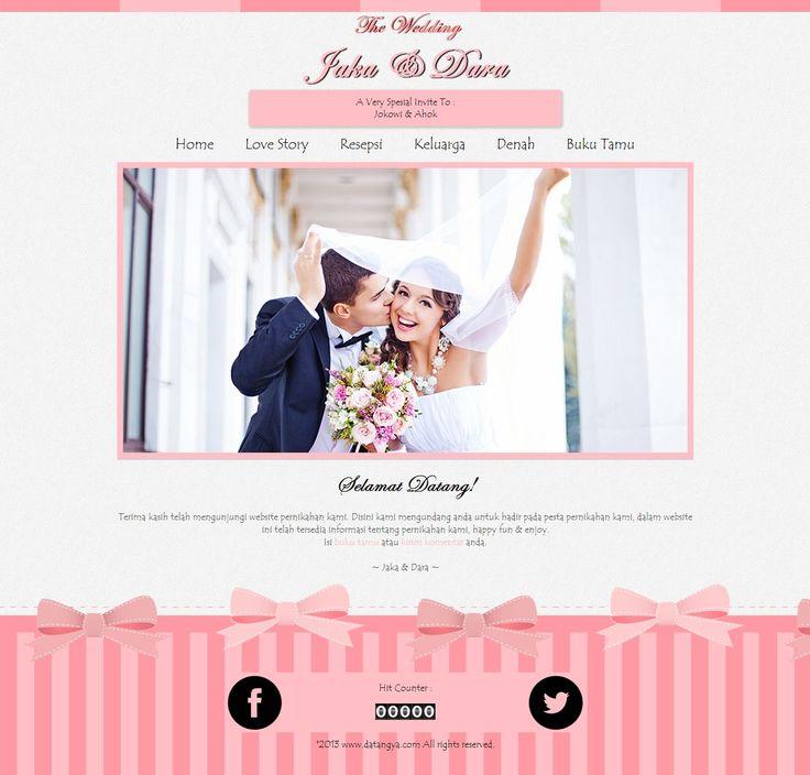 desain tema undangan online terbaru dari datangya.com