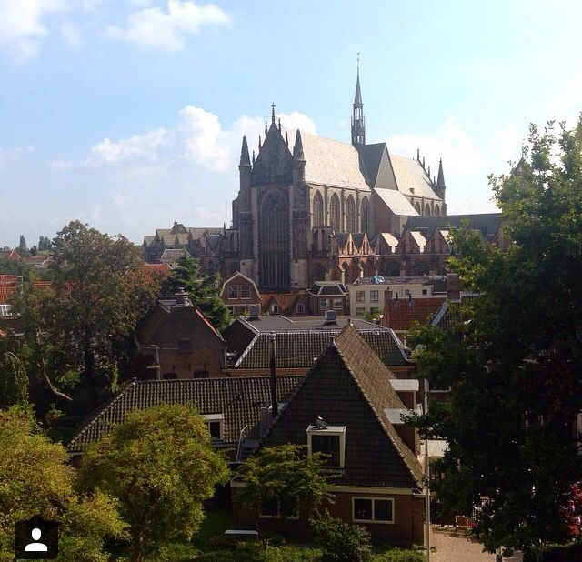Leiden cathedral, Holland
