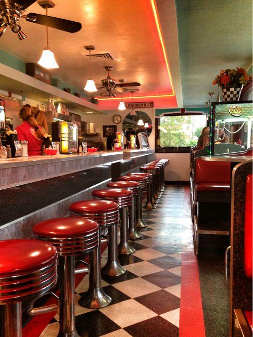 639 Best Diner Interior Photos Images On Pinterest
