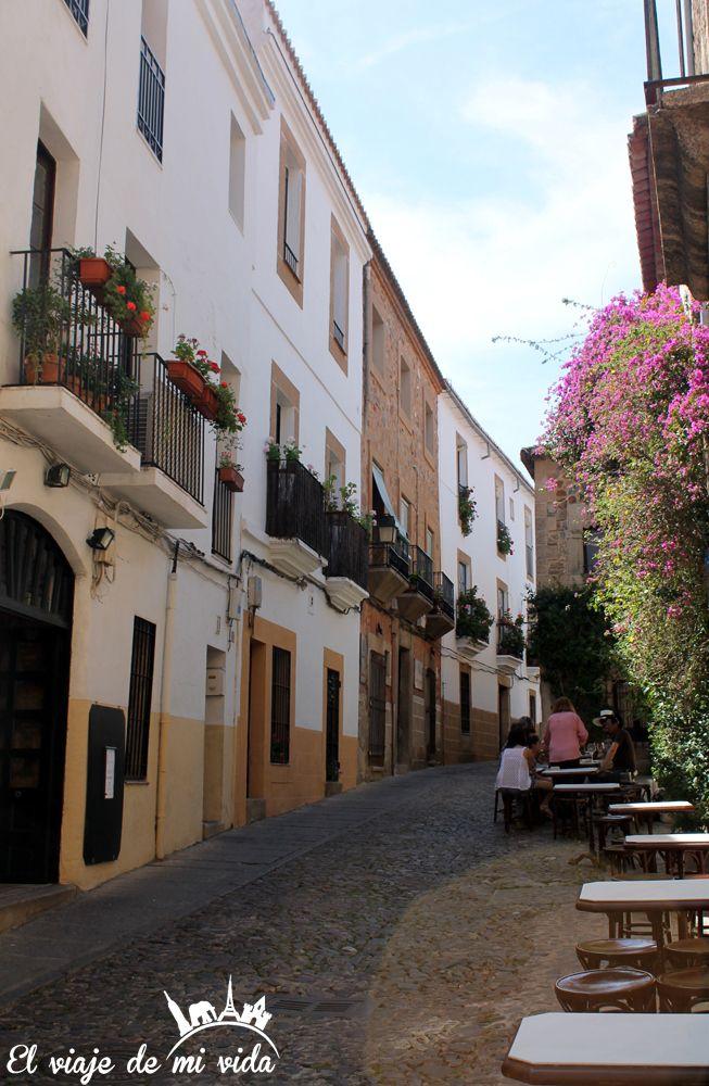 Calles Caceres Extremadura España