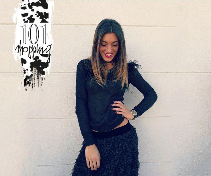 Maglia Trussardi + Gonna Versace_fw2017