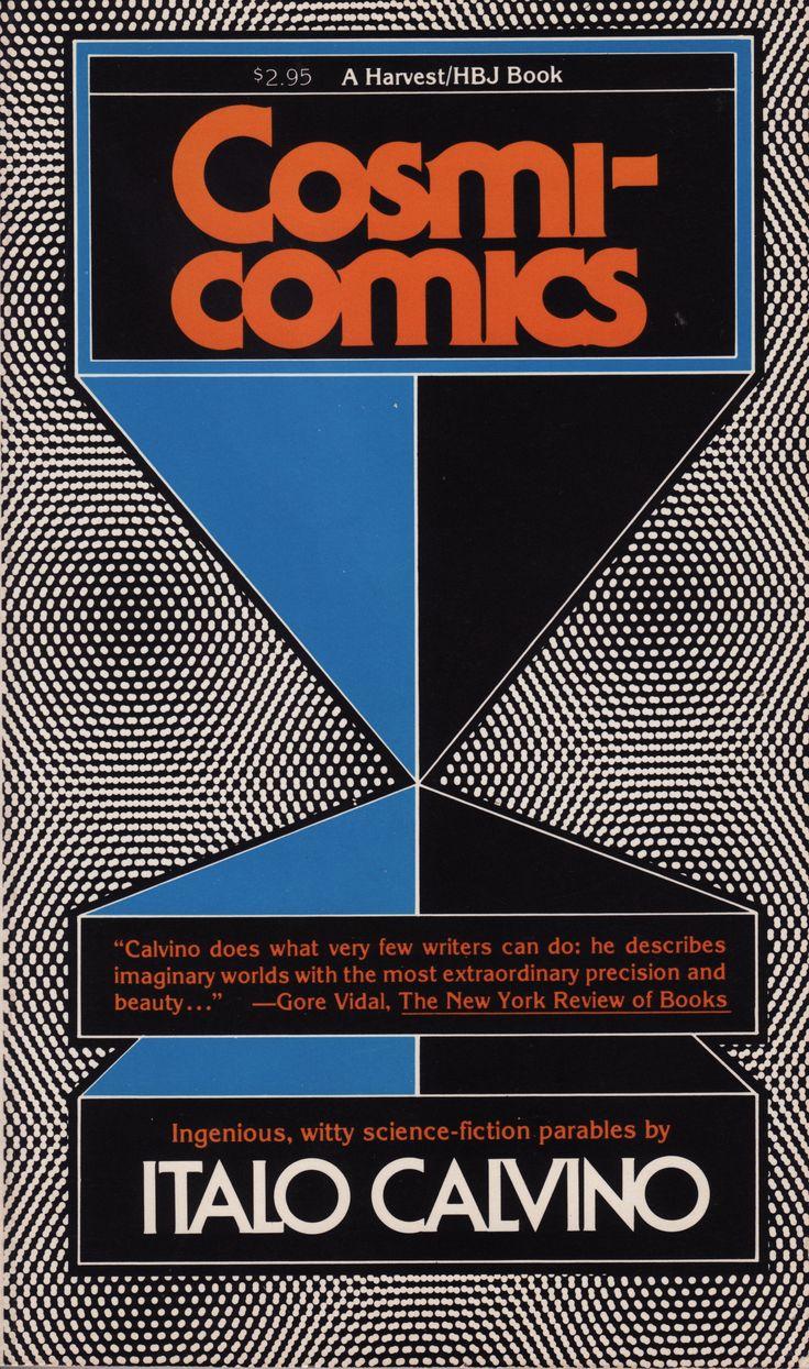 Cosmicomics by Italo Calvino, Harvest/HBJ Books - Fonts In Use