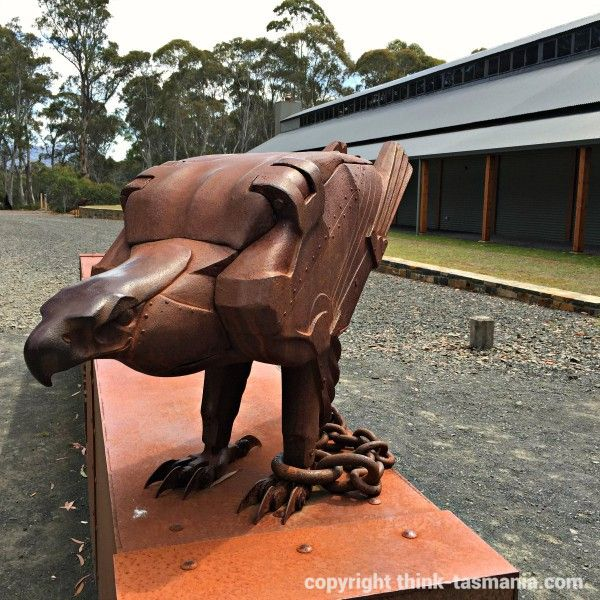 Derwent Bridge - The Wall in the Wilderness #sculpture #carvings #Tasmania article and photo for think-tasmania.com