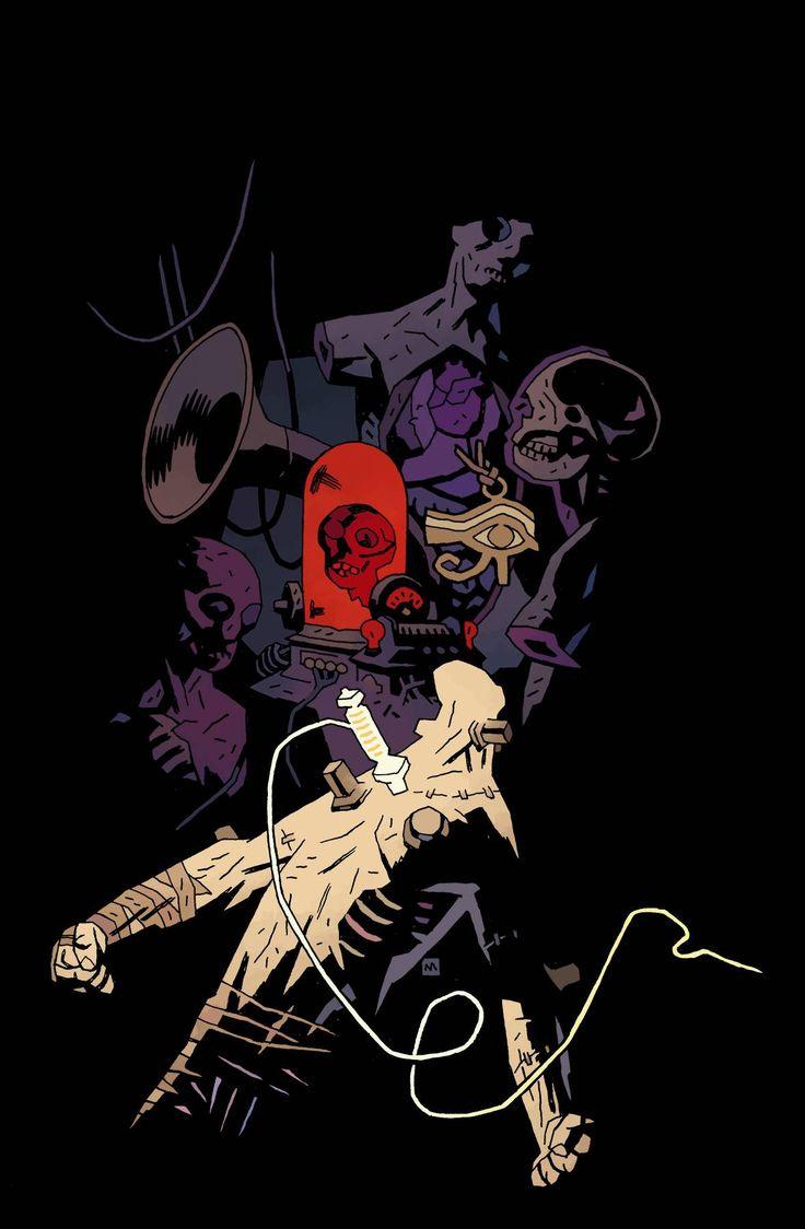 Mike Mignola: Frankenstein Underground, Issue #4