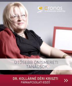 Dr. Kollárné Déri Kriszti is a Cronos tanácsadói csapatát erősíti.