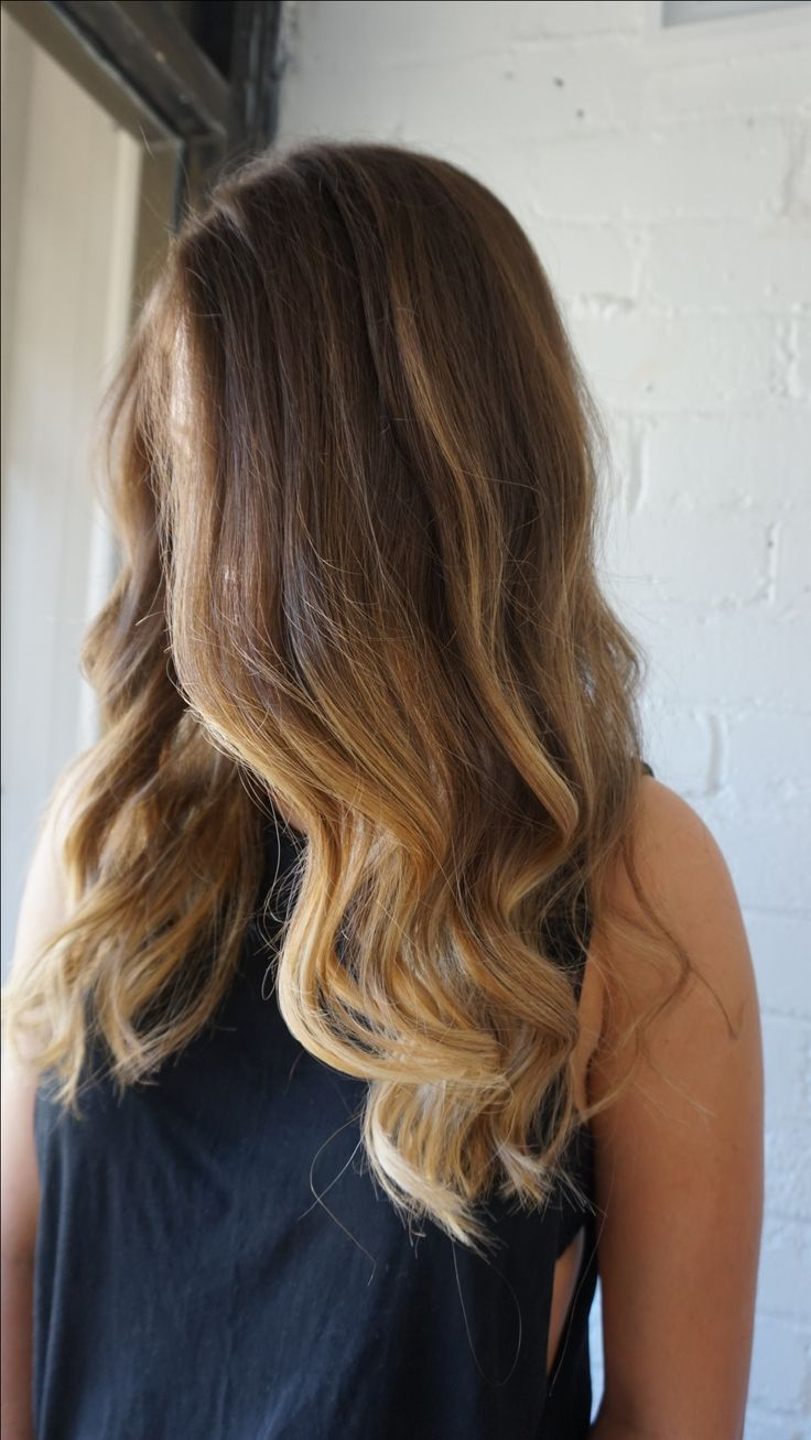 Natural sun kissed balayage #blonde #balayage