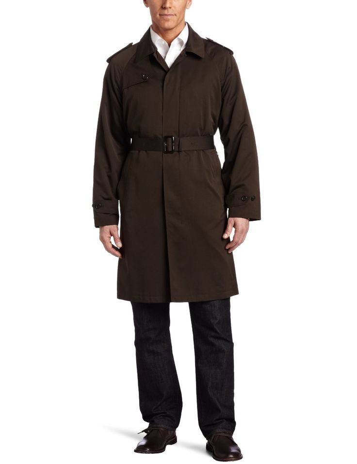 how to wear a trench coat men