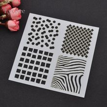 DIY Layering Stencils Masking Spray Painted Template Drawing Stencils Laser Cut…
