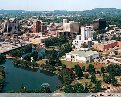 Huntsville, Alabama. Beautiful city with a gorgeous historic home district!