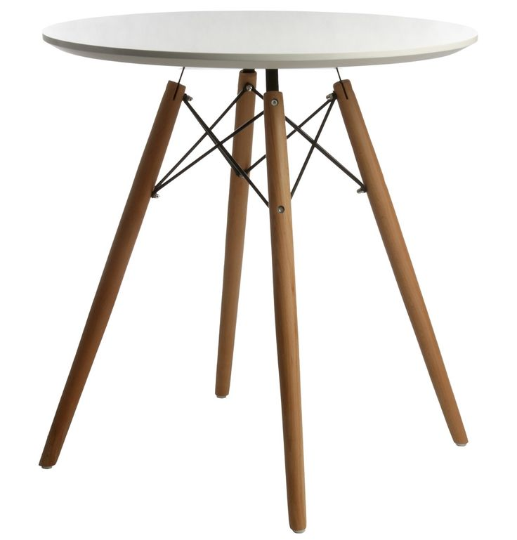 Replica Eames DSW Dining Table - Small by Charles and Ray Eames - Matt Blatt